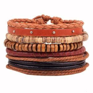 Jewelry - Fashion Assorted Leather Bracelets